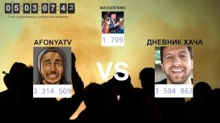 24/7 MUSIC МАРАФОН ПОДПИСЧИКОВ AFONYATV VS ДНЕВНИК ХАЧА VS MASSDENIM3 КТО ПОБЕДИТ?