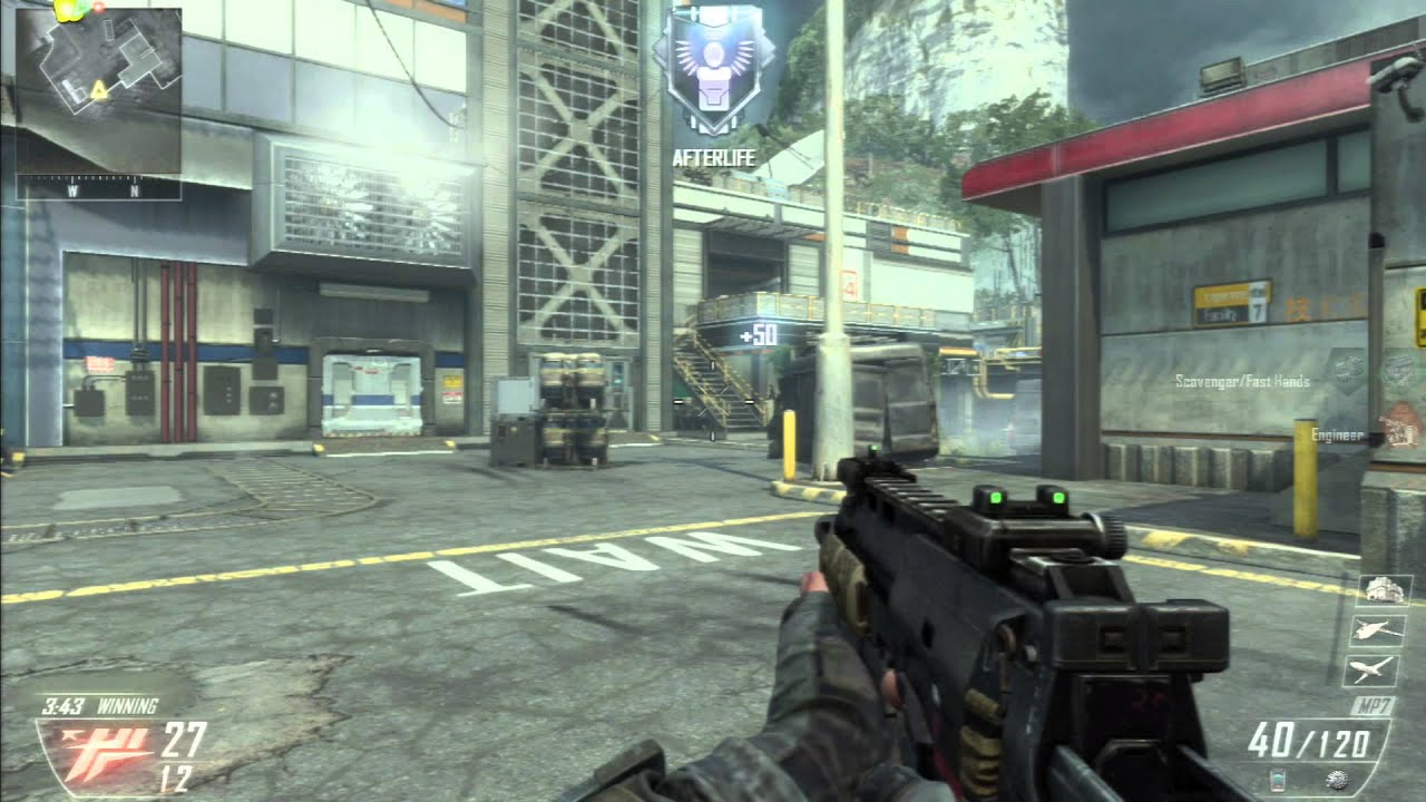 Call Of Duty Black Ops 2 Did You Know Afterlife Equipment Youtube