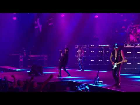 Scorpions Live Pt. I (Not Full) Oracle Arena Oakland, CA 10/4/17