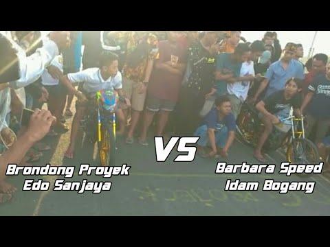 GL Brondong Proyek (Edo Sanjaya) VS CB Barbara Speed (Idam Bogang) || Super BIG MATCH Laga 500m