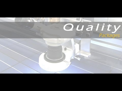 Quality Packages - PV modules