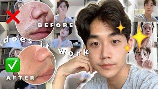 USING A SHEET MASK EVERYDAY  | Korean Sheet Mask challenge |   Brute Choi