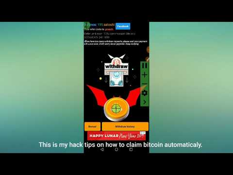 100% Working! Auto-claiming Free Bitcoin Button.