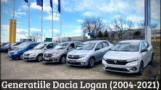 Generatiile Dacia Logan (2004-2021) - Prezentare Comparativa