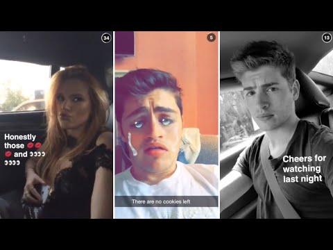 Gregg Sulkin | Snapchat Videos Compilation (September 2015) (featuring Bella Thorne)