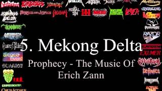 Top 10 German Thrash Metal Bands