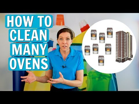 How to Clean Many Ovens in a Day (Apartment Complexes)