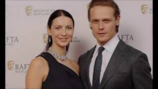 sam heughan and caitriona balfe always winners