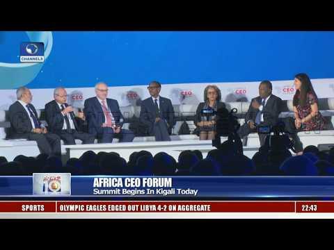 Africa CEO Forum Begins In Kigali
