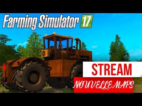 Farming Simulator 17   LIVE SUR UNE NOUVELLE MAPS !