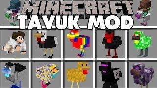 EN YENİ VE ÇILGIN TAVUK MODU  - Minecraft Mod