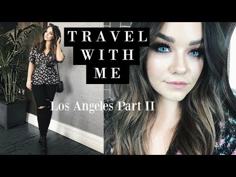 TRAVEL DIARIES : LA Vlog with Neutrogena Part II   Michelle Crossan