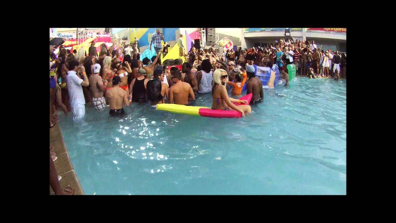 Mtv Spring Break Pool Party Youtube