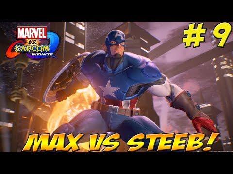 Max vs Steeb! Marvel vs Capcom: Infinite! Part 9 - YoVideogames
