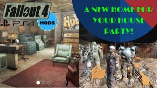 Fallout 4 PS4 MODS: 'HAVE 20 COMPANIONS AT ONCE!' + New player home AKA The Origin of Malkovich