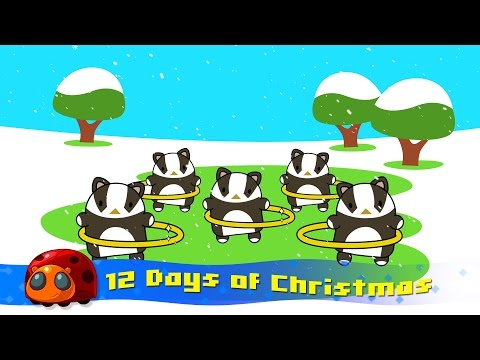 12 Days of Christmas  JellyBug  Songs for kids