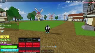 FREE BloxPiece GUI   AutoFarm   DF TP   Chest TP   And More!   ROBLOX EXPLOIT