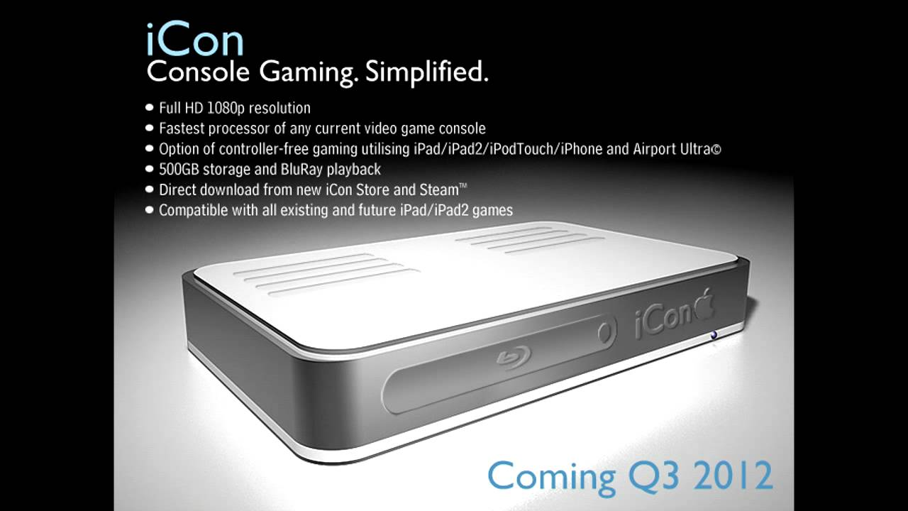 ICon Apple Gaming Console 2013