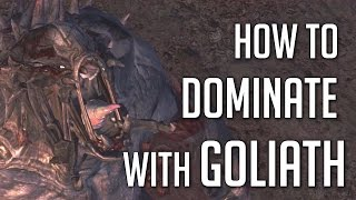 Evolve - How to Dominate with Goliath!