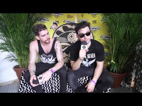 Adventure Club Backstage Interview at Future Music Festival Brisbane (2014)