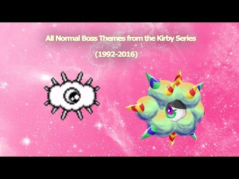 All Normal Boss Themes from the Kirby Series (1992-2016)