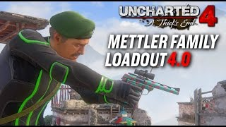 Uncharted 4 MP | Sancho Loadouts : Mettler Family 4.0 (Solo Masters)
