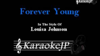 forever young karaoke louisa johnson