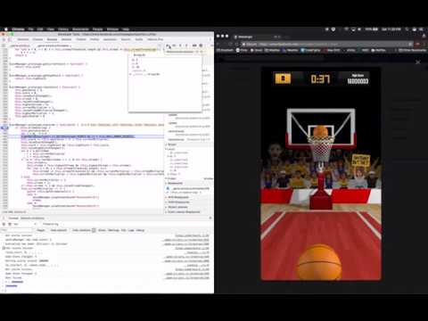 How I HACKED Hoops Against Friends on Facebook to get THE HIGHSCORE  (TUTORIAL)