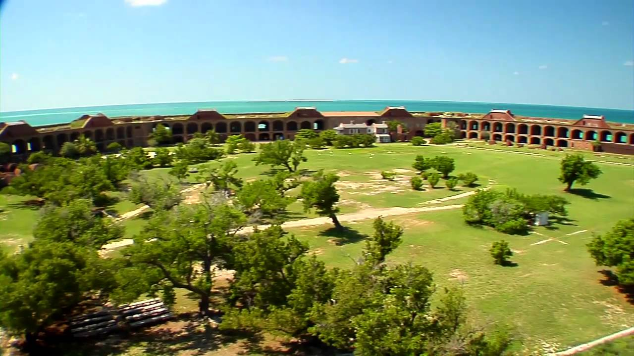 Key west seaplane adventure to the dry tortugas national park youtube for Garden key dry tortugas national park