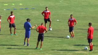 Rimini Calcio. L'arrivo di Grassi nel ritiro a Novafeltria e le impressioni del DS Tamai.