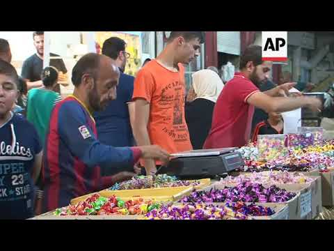 Last minute preps for Eid in Mosul