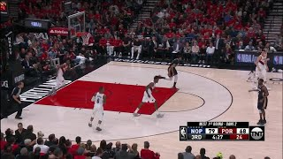 3rd Quarter, One Box Video: Portland Trail Blazers vs. New Orleans Pelicans