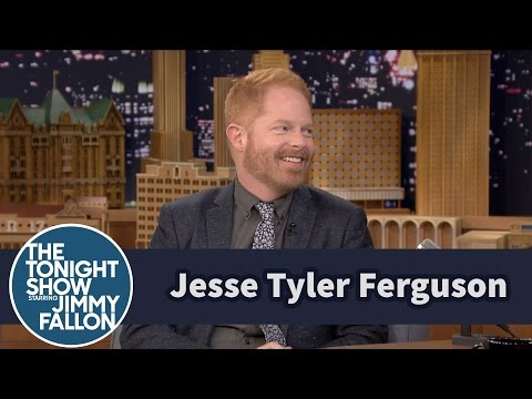 Jesse Tyler Ferguson's In-Laws Have Racy Xmas Decorations
