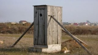 Туалет своими руками(Описание строительства туалета. Кому нужны чертежи формат автокад или pdf- подписывайтесь на канал и скачива..., 2014-07-25T07:58:50.000Z)
