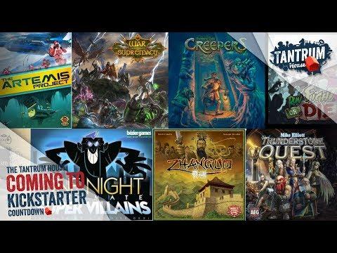 Upcoming Board Games Kickstarter July 2018 2nd half