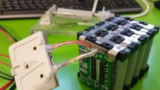 Вимірювання внутрішнього опору збірки акумуляторів 3s 4p thumbnail