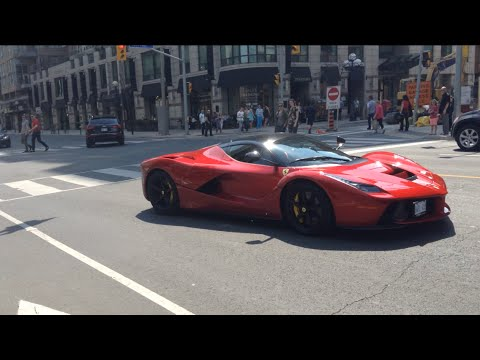 Ferrari LaFerrari In Toronto