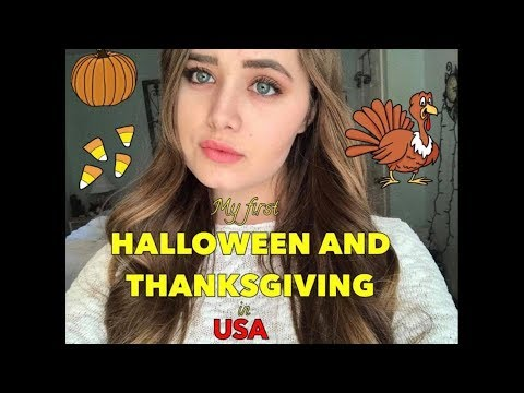 Exchange student's First Halloween and Thanksgiving