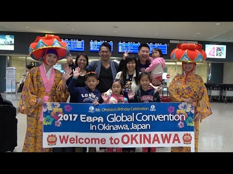 Just Arriving in okinawa for the 2017 E8PA Global Convention!!