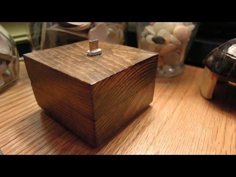 DIY | Wood Earbud/Phone Stand