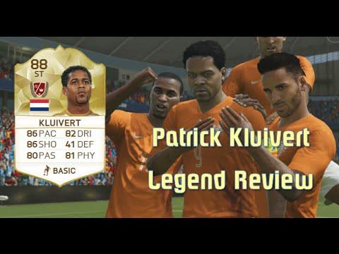 FIFA 16 - Patrick Kluivert - Legend Review