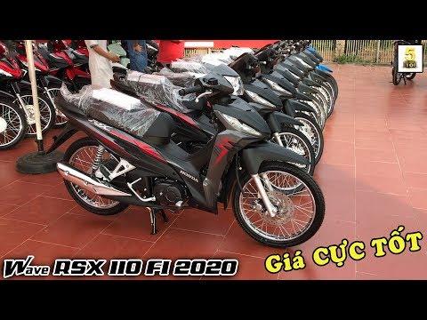 Giá Xe Honda Wave RSX 110 FI 2020 Hoàn Toàn Mới CỰC TỐT Tại Honda Hòa An – Lai Châu 🔴 TOP 5 ĐAM MÊ