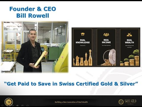 Founder overview Swiss Gold Global   The Real Wealth Revolution