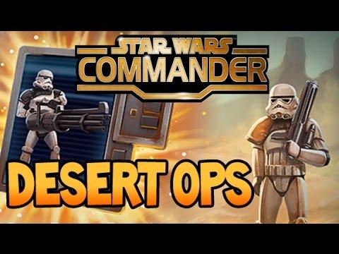 Star Wars: Commander - Strongest Lvl 5 HQ Base Design (v1) Attacked