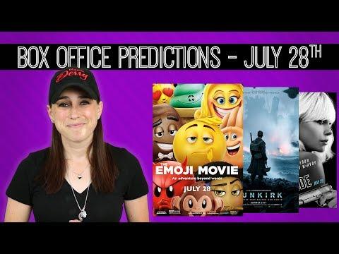 Box Office Predictions  The Emoji Movie