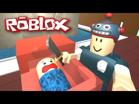 Roblox | Protect a Baby From DanTDM! | BABY HAS A GUN!