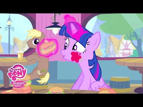 MLP: Friendship is Magic Season 4 - 'Fast Food w/ Twilight Sparkle' Official Clip