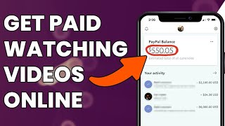 Make Money Online For FREE Watching Videos (2020 Works Worldwide)