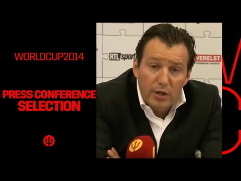 Livestream: Press Conference Selection Belgium - World Cup 2014