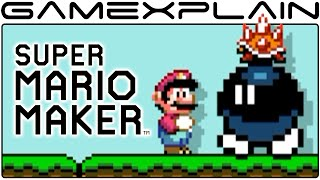 NEW Bob-omb Battlefield N64 in  Super Mario Maker